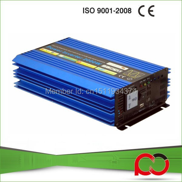 China Inverters 2000W Pure Sine Wave Power Inverter 12V 220V(China (Mainland))