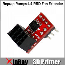 Free Shipping Hot 3D printer Accessories Reprap Ramps1.4 RRD Fan Extender 5pcs/LOT  DPA-06653 Max 20V for RAMPS For 3D printers