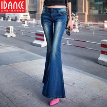iDance new Designers brand 2 Colour high quality pants Women's jeans woman Flares jeans skinny jeans trousers