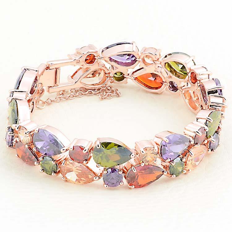 Браслет в несколько обхватов Ewiniar Jewelry 18 K CZ Mona Lisa Zircon Bracelet браслет на шнурках lisa jewelry 7 1 h323 363 fh323 363