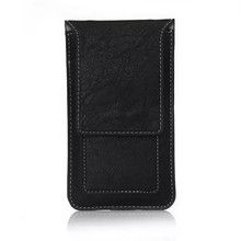 Buy New Fashion Noble belt Slot Holster Cell Phone Bag Pouch Flip Leather Cover Skin Case BQ Aquaris E5 for $4.89 in AliExpress store