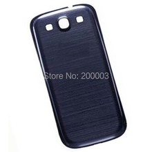 For S3 SIII GT-I9300/I9308 White/Pebble Blue/Black/Red/Pink/Gray/Brown Color Battery Back Cover Door(Hong Kong)