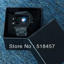 Hot Selling Black Airplane Model Pilot LED Light Alarm Silicone Wrist Watches Free Shipping(China (Mainland))