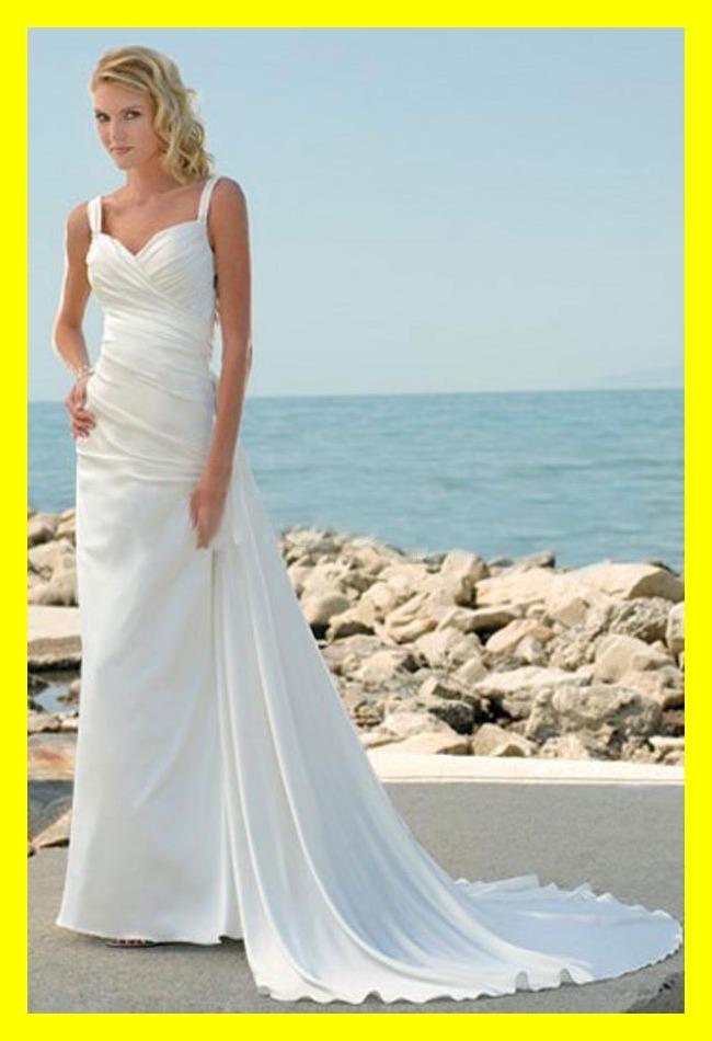 Wedding dresses beach style casual dress guest of sheath for Casual beach dresses for wedding guests