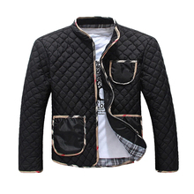 M –3XL Free shipping 2015 spring, Autumn, Men's winter the thin darin-collar jacket,fashion brand leisure coats jackets men