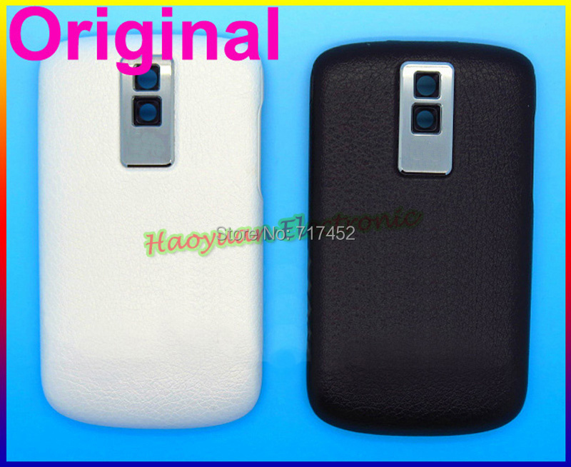 10pc/lot Original Back Cover Case Door Housing For BlackBerry Bold 9000 Free Shipping Black/White(China (Mainland))