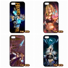Hearthstone Jaina Proudmoore Characters Phone Case Cover Lenovo Lemon K3 K4 K5 Note A2010 A6000 S850 A708T A7000 A7010 - New Cases store