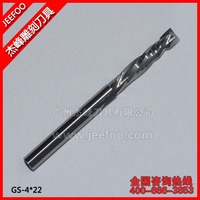 4*22 Engraving Tungsten Carbide Tools Up and Down Cut Two Spiral Flute Bits  A Series