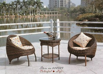 Hot Sale Modern Garden PE Rattan Furniture,YSF-N017,OEM