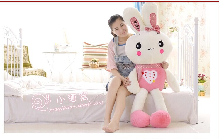 huge 150 cm pink love rabbit plush toy throw pillow rabbit doll gift w4020<br><br>Aliexpress