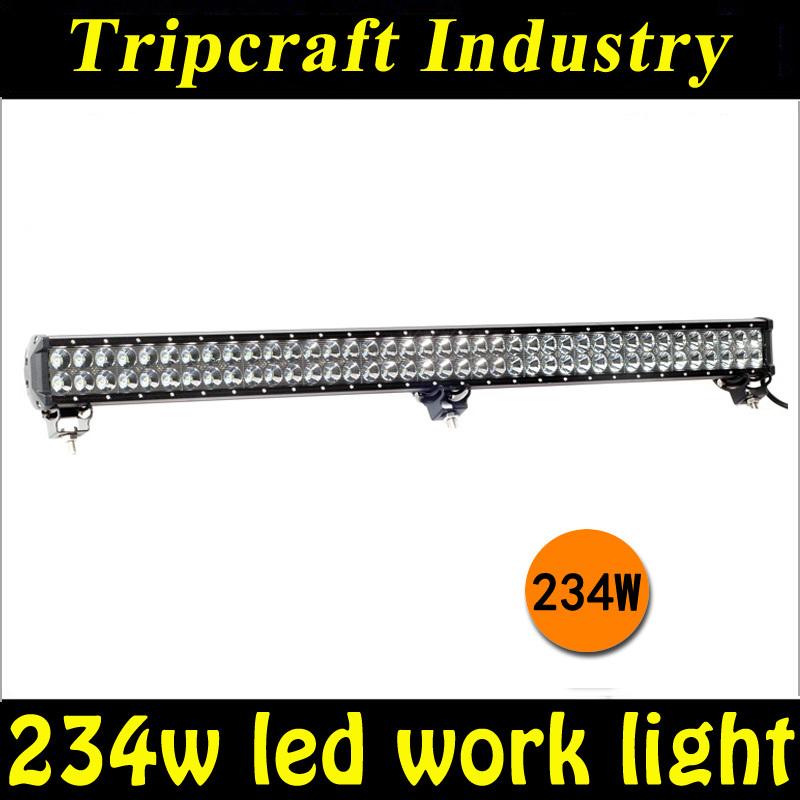 36 Inch 234W CREE LED WORK LIGHT BAR Headlights 288W/180W/126W For ATU Offroad Truck Car<br><br>Aliexpress