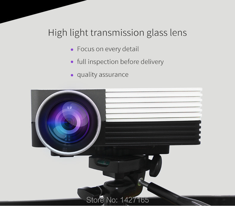 New Arrival Geekwire 200 Inch High Brightness SVGA Mini FHD LED Home Theater Projector w/ HDMI, VAG, USB 2.0, AV, SD(China (Mainland))