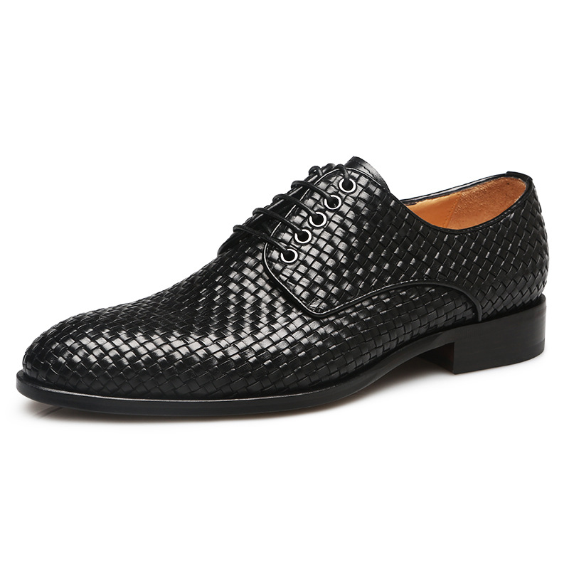 New arrival men classic leather shoes hand-woven leather men shoes quality Goodyear handmade shoes leather outsole men oxford<br><br>Aliexpress