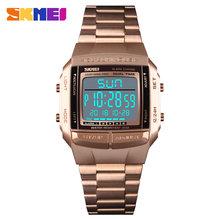 SKMEI Esportes Militares Relógios À Prova D' Água Mens Relógios Top Marca de Luxo Relógio Eletrônico Digital LED Homens Relógio Relogio masculino(China)