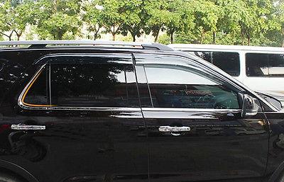 Хромовые накладки для авто 6pcs Ford Explorer 2011/2014 авто бу ford trnzit
