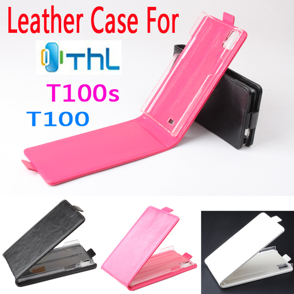 THL T100/T100S Case Leather Flip Business Style Cover Skin T100s Shell. - QIN CHEM's store