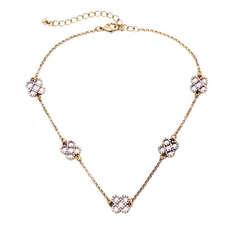 2015 fashion jewelry wholesale factory direct retro imitation gemstone cross pendant necklace woman free shipping hot Christmas(China (Mainland))