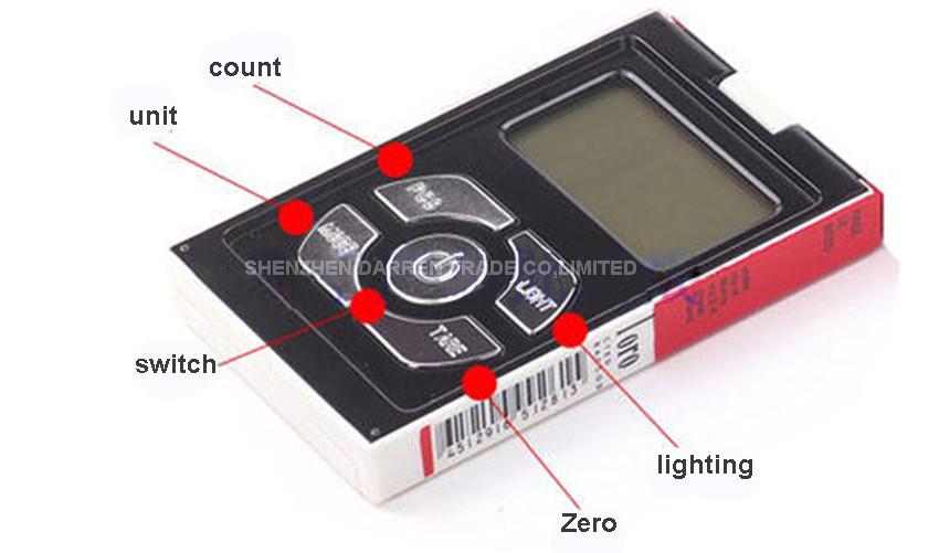 ถูก 1ชิ้นดิจิตอลP Ocketชั่งน้ำหนักอิเล็กทรอนิกส์ครัวเครื่องประดับเครื่องชั่งน้ำหนัก100กรัมX 0.01กรัมกรณีบุหรี่