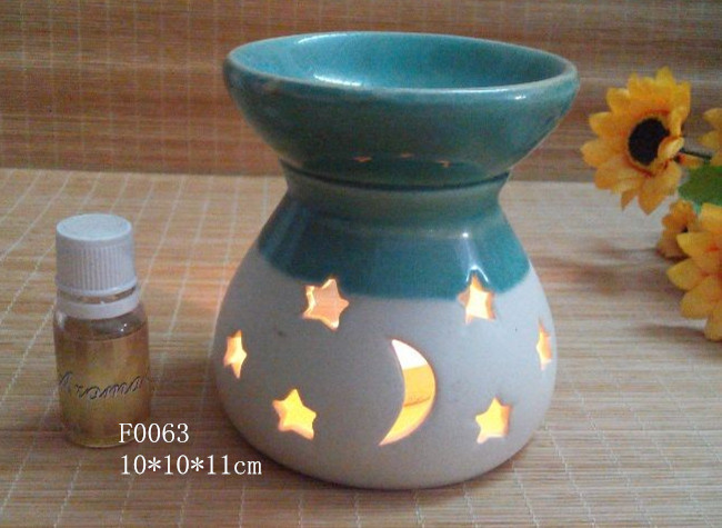 household decoration ceramics aroma burner candle burner(China (Mainland))