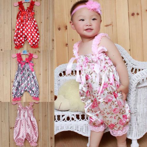 Дешевые девочки рюшами детский комбинезон новорожденных цельный подгузники
