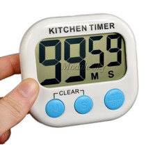 Large LCD Digital Kitchen Cooking Timer Count-Down Up Clock Loud Alarm Magnetic Free Shipping(China (Mainland))