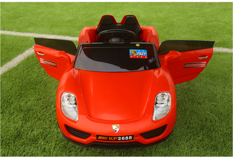 2016 hot ride on childrens electric car can take four pairs of drive remote bluetooth baby