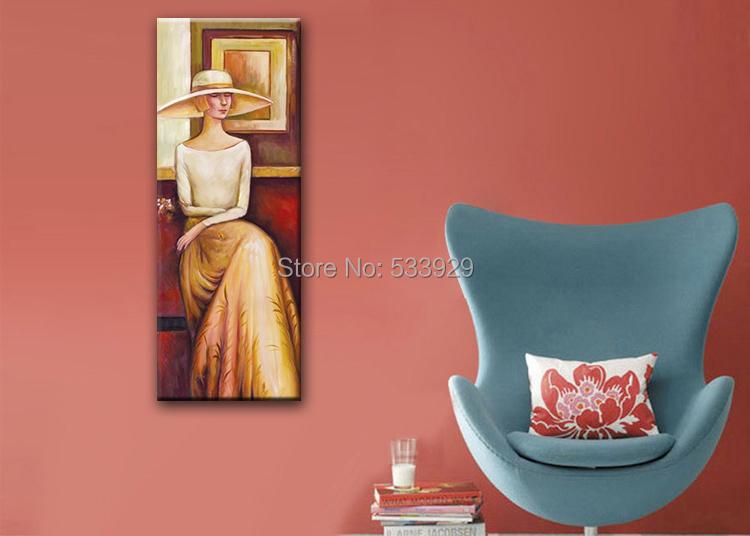 Здесь можно купить    Abstract Figure Hand Painted Oil Painting On Canvas TDS-CX206---60x80cm  Дом и Сад