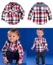 New Baby Boys Shirt+Pants 2pcs Clothes Suit Gentleman Children Clothing Sets