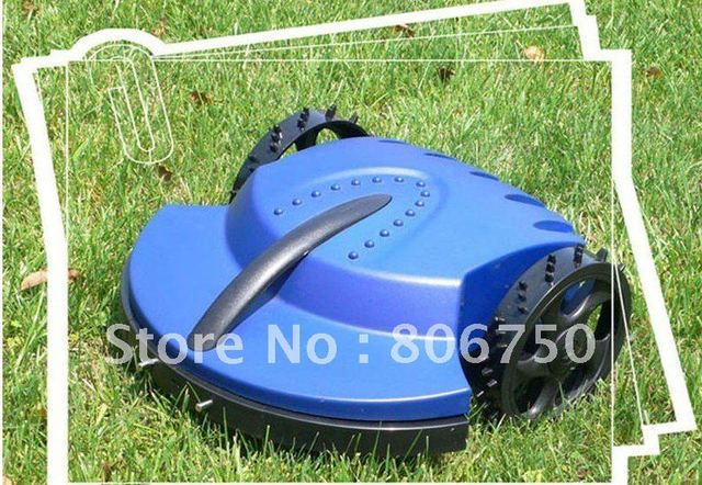 100m Virtual Wire Standard Length Intelligent Auto Lawn Mower +CE&ROHS+Li-ion Battery+Free Shipping