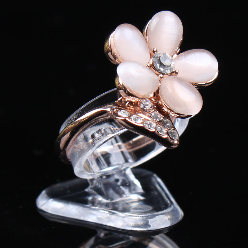 New models portable ring show display nice ring box ring holder jewelry Ring holder with good quality best price nice service(China (Mainland))