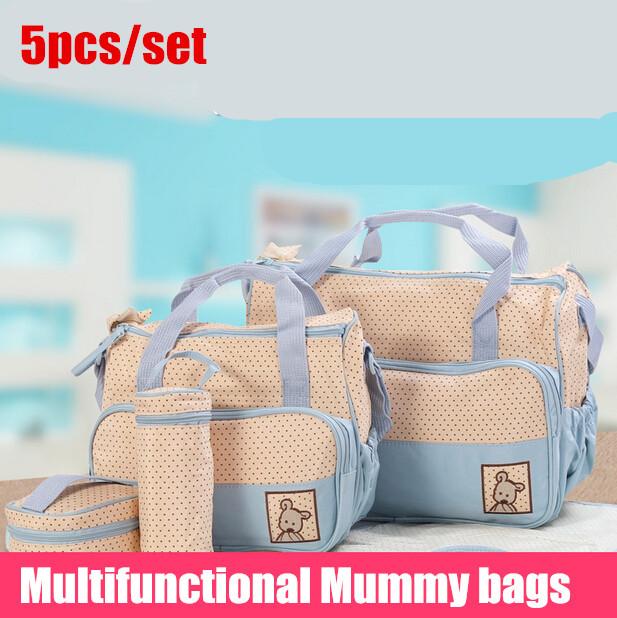 Нью-высококачественный 5 друг / установить сумок пеленки подгузник прочный мешок ...