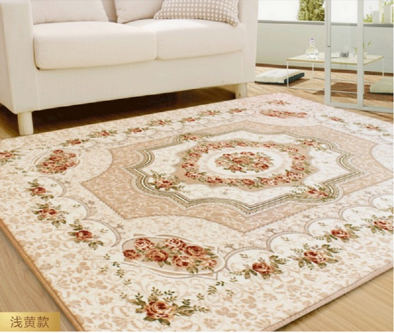 Autumn Winter Rugs And Carpets For Living Room Slip Resistant Area Rug Water Absorbing