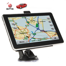 7 inch Touch Screen 4G Car GPS Navigation Navigator with Bluetooth AV-IN MP3/MP4 FM Transmitter – Wince 6.0 OS