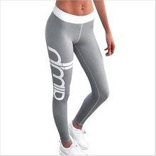 Buy 2017 Women Sexy Skinny Push Sporting Leggings Gothic Print High Waist Elastic Pants Workout Fitness Legging Trousers for $7.30 in AliExpress store
