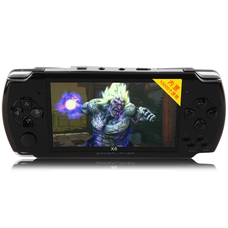 8GB 4.3'' Screen handheld game console with 1000 buit-in games,multifunction game player(China (Mainland))