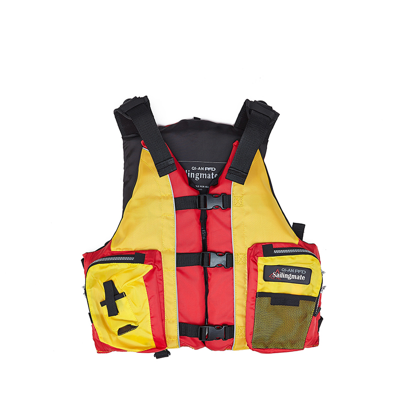 QIAN SAFETY Adult Accessorial Life Vest With EPE Foam Material and Whistle Dedecated Water Sports Swim Accessorial Life Jacket(China (Mainland))