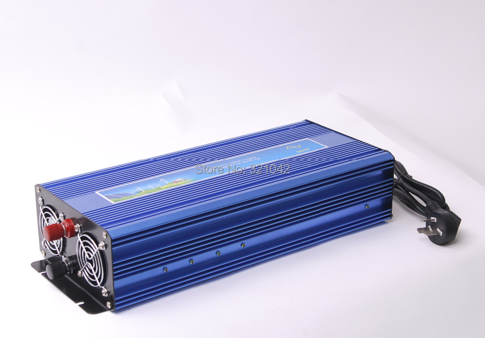 1000W Off Grid Inverter Pure Sine Wave Inverter DC12V to AC220V 50HZ with Charge Funition, Solar Wind Power Inverter 1000W(China (Mainland))