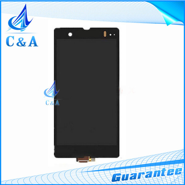 mobile phone lcd For Sony Xperia Z L36h LT36 C6603 display screen with touch digitizer replacement repair parts 1 piece(China (Mainland))