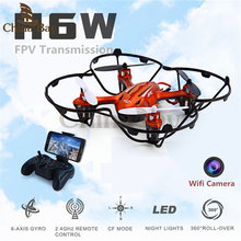 2016 Newest! Mini Drone JJRC H6W Real Time Video FPV Quadcopte rRC Toys Dron With 2MP Hd Wifi Camera RC Helicopter Vs MJX X600(China (Mainland))