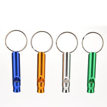Child Kid Toy Whistle Keychain Keyring Musical Instrument Toy Adult Emergency Whistle For Camping Hiking Outdoor Sport Tools(China (Mainland))
