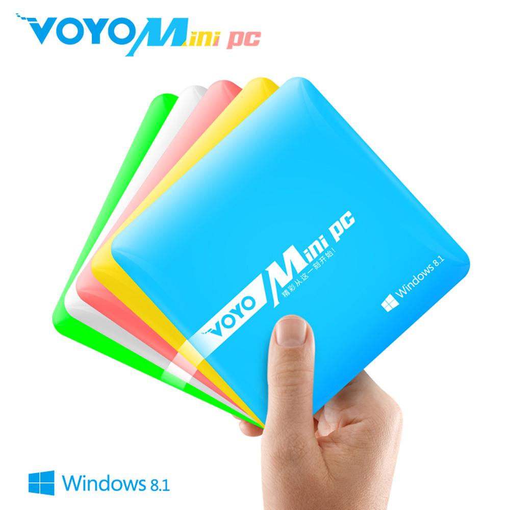 Original MINI PC Intel 1.3Ghz Windows8.1 OS,RAM DDR3 2GB ROM EMMC 64GB Business office ultrathin Smaller Laptop HDMI nettop VOYO(China (Mainland))