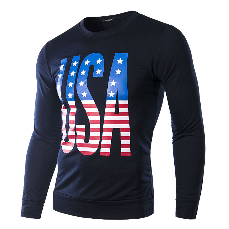 Eu usa hot sale fashion party artistic usa national flag for T shirt design usa