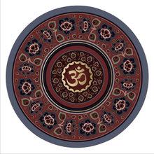 Circular Meditasi Pad Yoga Mat Bantal 60*60*3 Mm Kebugaran Suede(China)