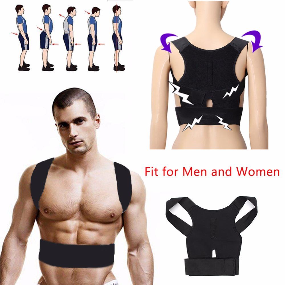 Adjustable Posture Corrector Braces & Supports Corset Back Belt Support Corrector Lumbar Shoulder Brace Belt for Men Women(China (Mainland))