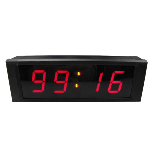 [GANXIN]1 High Character LED Wall Clock LED Digital Timer Countdown and Up by IR Remote Control Red Color<br><br>Aliexpress