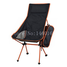 Outdoor Folding Chair Portable Folding Camping Chair Foldable Chair Fishing Chair for Picnic BBQ Beach With Bag Lengthen(China (Mainland))