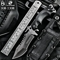 HX OUTDOORS knife Camping saber tactical fixed knife zero tolerance Hunting survival tools cold steel folding