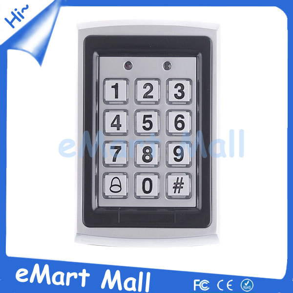 Free Shipping  RFID Entry Metal Door Lock Access Control System + 10 Key Fobs<br><br>Aliexpress
