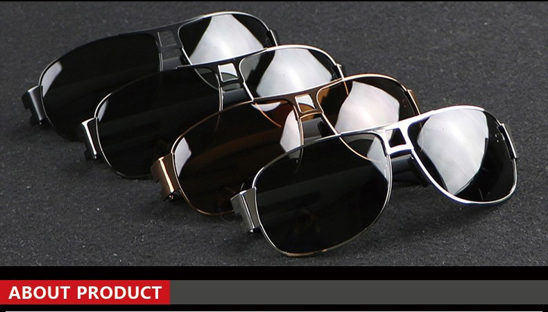 2017 New Sunglasses Men Polarized Mercedes Brand Designer Sunglases Male Driving Outdoor For Men Eyewears Accessories Ray BOX