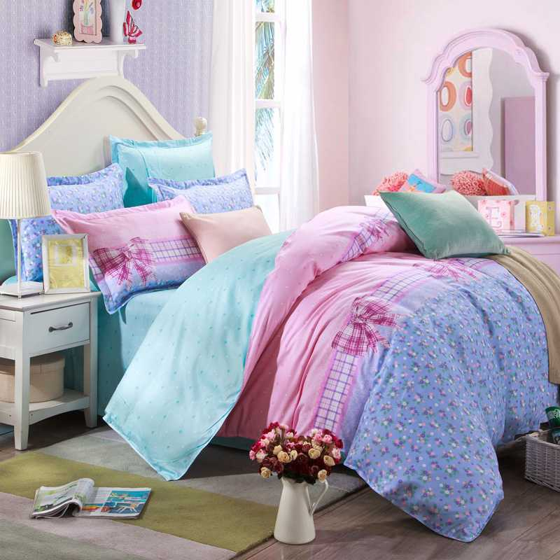 popular cute full size bedding for girls buy cheap cute full size bedding for girls lots from. Black Bedroom Furniture Sets. Home Design Ideas